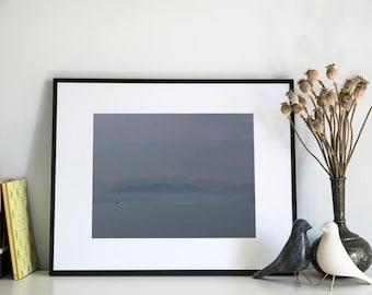 Vancouver Coastline, Photographic Print, 5x7, 8x10