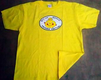 VTG Tatara Festival 30th Aniversary Yellow T shirt size Medium
