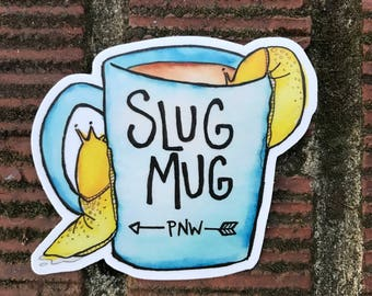 Slug Mug Sticker!
