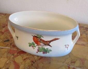 Canopy earthenware late XIX - early XXth