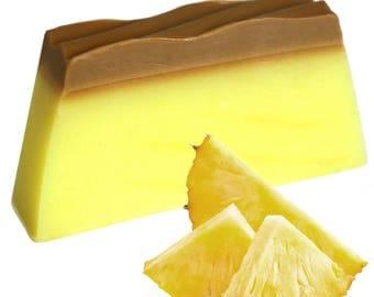 Pineapple 100g Soap Slice - Handmade Tropical Soap