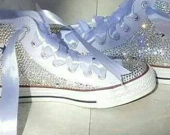 Customized Blinged Out Converse