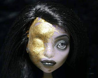 """OOAK Monster High Doll """" Consumed by greed"""""""