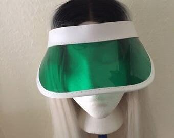 Green Tint Visor