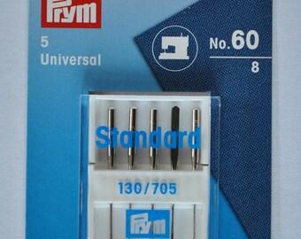 sewing machine needles universal 5 size 60 prym 152409