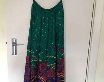 Skirt and cardigan by Diane Freis