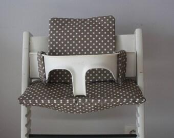 Chair cushion high tripp trapp - easy cleaning