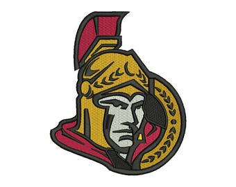 Ottawa Senators Embroidery Design - 4 SIZES
