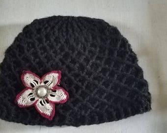 5 petal diamond hat