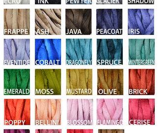 Pick Your Jumbo Merino Blanket Color