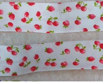 Fancy STRAWBERRIES cherries Replie 20/9/9 length bias 2.50 meters