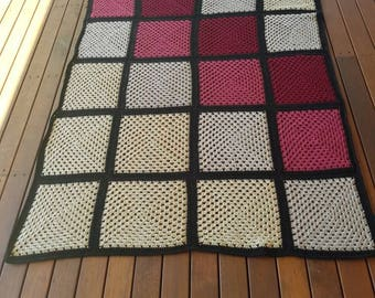 Single bed throw blanket