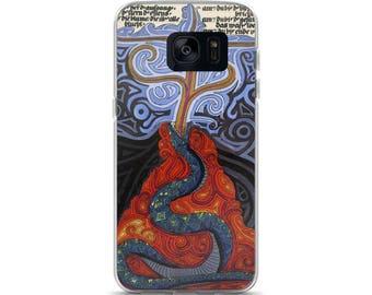 Snake Erupting - Jungian Art - Samsung Case