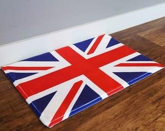 Doormat With  100% Flannel British Union Jack Print