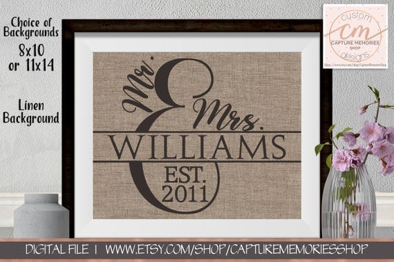 personalized family name signs family name sign wedding gift family