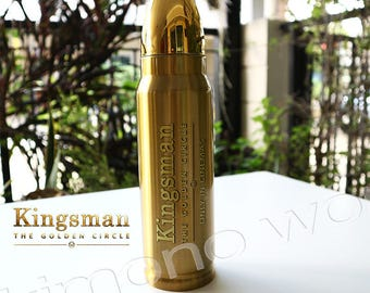 Bottles Licensed Kingsman II THE GOLDEN Circle Tie in New Out Of Print