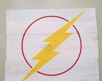 Flash Wall plaque
