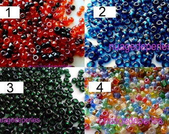 12 gr approximately 700 beads seed color choice 2mm