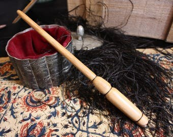 Handmade Scholar's Ash Wand //  Cosplay, Magick, Magic, Wizard, Witch, Prop