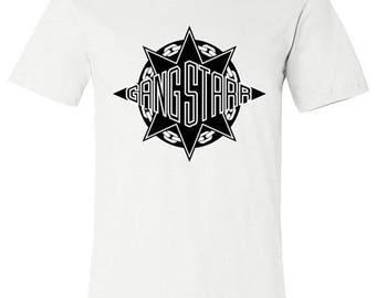 Old School Hip Hop Rap Shirt of Gangstarr Small to XXL