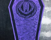 Pumpkin Coffin Back Patch...