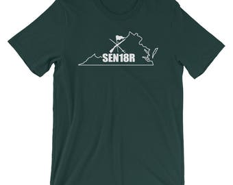 Virginia Color Guard 2018 Shirt, Graduating Senior 2018 Color Guard, Virginia State ColorGuard Shirt, SEN18R Color Guard Gift