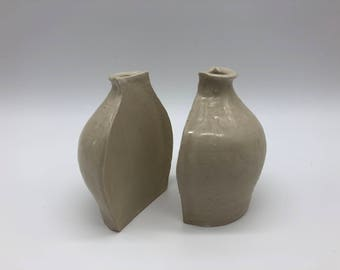 Bookend Bud Vases
