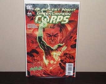 Blackest Night Green Lantern Corps  #44   DC Comics