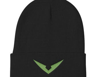 Green Paladin Inspired Beanie