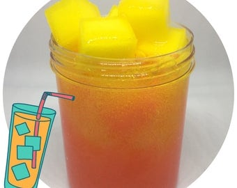 Strawberry Lemonade Jelly Cube Slime *SCENTED