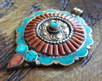 Tibetan Silver Pendant