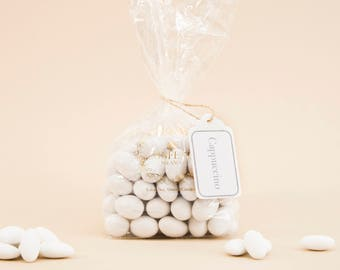 Cappuccino Italian Wedding Confetti Almond Candies Soft For Weddings Communion Baptism