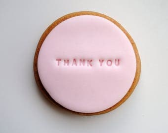 Thank You Gift / Iced Biscuits / Gift for Her / Biscuit Gift / Edible Gift / Personalised Gift / Girlfriend / Boyfriend