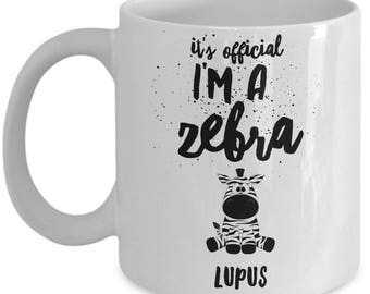 Lupus mug, Lupus Zebra, Lupus coffee mug, Lupus gift, Illness, Lupus, Invisible Illness, Rare disease, Lupus Gift, Mug, Awareness