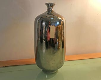 Electroplated Ceramic Vase