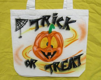 Trick or treat candy bag.