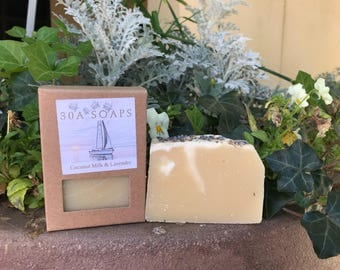 Coconut Milk & Lavender Soap