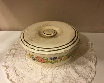 HOTOVEN cooking ware vintage bowl with lid