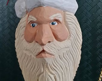 Hand-painted Santa