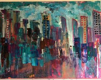 City scape No. 911/Poster