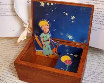 scatola carillon Il Piccolo Principe pop-up music box