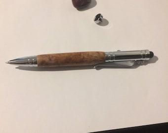 Woodturned pen