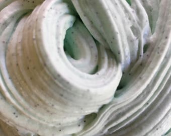 Mint Chocolate Chip Ice Cream* Butter Slime (Scented)