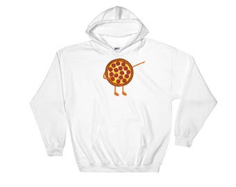 Vintage Pizza Lover Retro, Pepperoni Novelty Hoodie