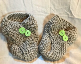Sand Colored Slippers