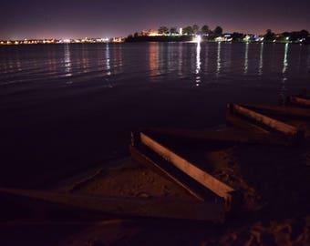 Perth City night photos from Applecross