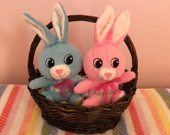 Easter plush personalized easter plush personalized bunny personalized easter bunny bunny plush personalized easter plush gifts for easter easter negle Images
