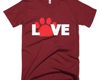 Dog Love Short-Sleeve T-Shirt