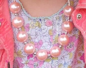 Light pink pearls