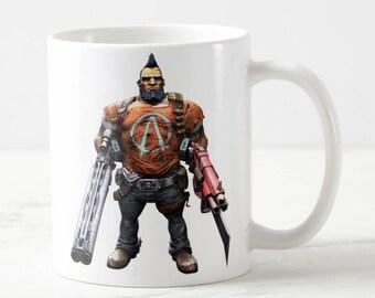 Borderlands 2 Mug -Borderlands Mug - Gunzerker Assassin Maya Soldier Gaige Psycho - Funny Mug - Funny gift - Gift for Her - Gift for Him
